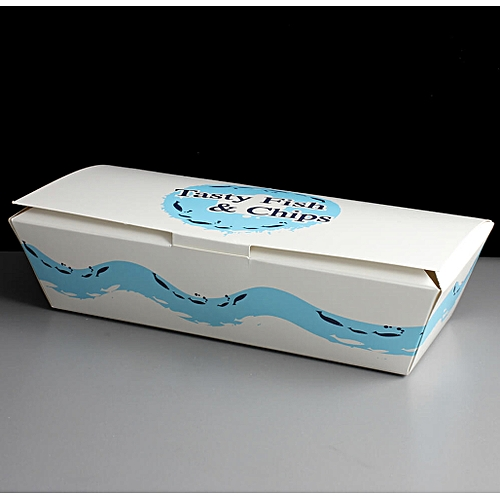 Large Rectangular Fish And Chips Box