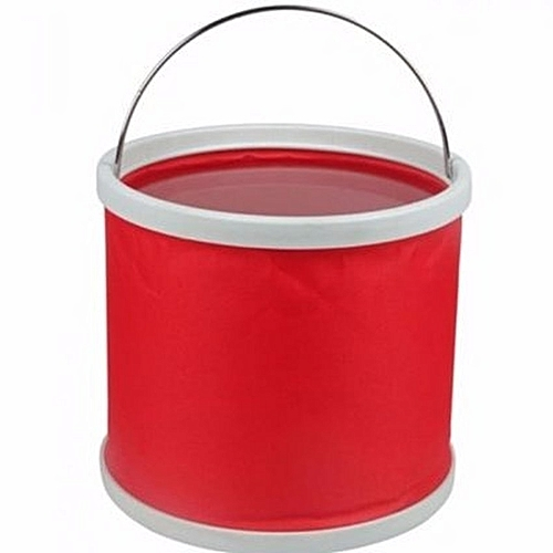 Portable Folding Bucket - Red