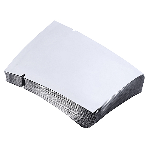 100pcs Aluminum Foil Mylar Bag Vacuum Sealer Food Storage Package Pouches-Silver