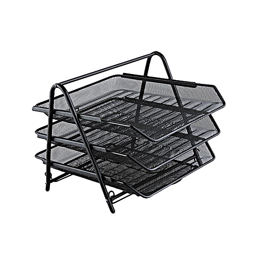 Three Tiered File Tray Set - 2 Pcs-Set 0E01-58-3D