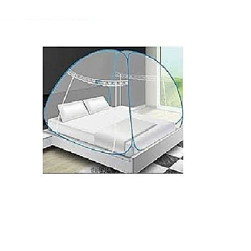 Mosquito Net Tent (Foldable And Breathable) 6X6ft Bed, 200cm By 200cm