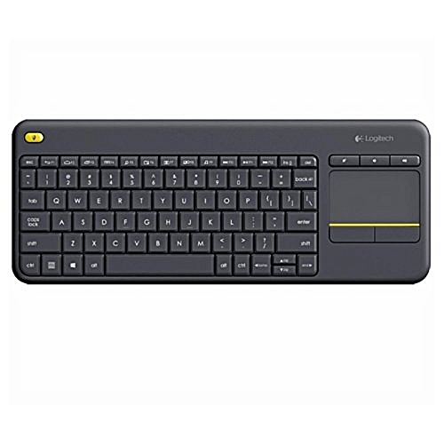 Wireless TV Keyboard With Touchpad K400plus
