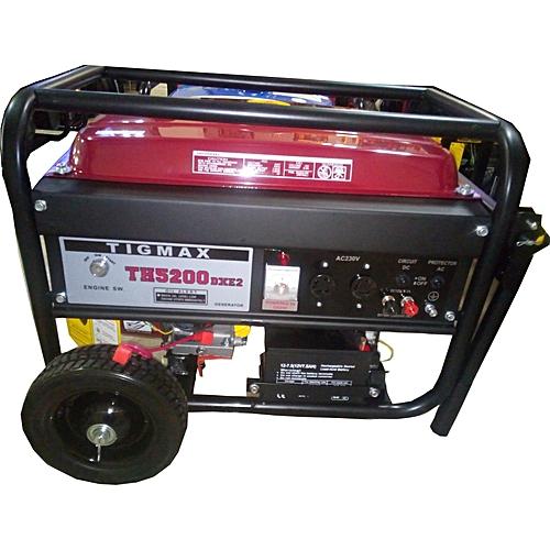 Tigmax 4.5KVA With Key Start Generator TG5200E2 100% Copper