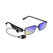 5095e13563b61 KCASA Smart Anti-blue Anti-radiation Bluetooth Glasses USB Earphone  Spectacles For Phone Call
