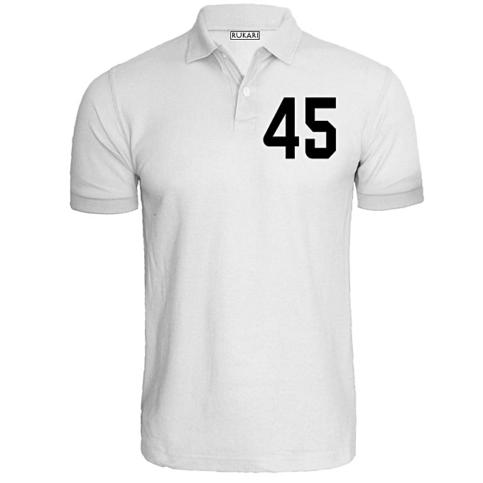 Rukari White Polo Shirt No 45 Jumia Com Ng