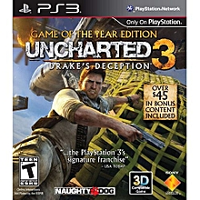 Uncharted 3: Drake's Deception Game Of The Year Edition Ps3 for sale  Nigeria