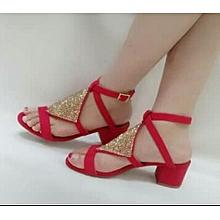94d3031c383 Buy Women s Heeled Sandals Online