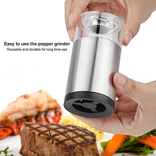Stainless Steel Manual Pepper Spice Grinder Muller Kitchen Grinding Tool