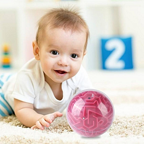 3D Maze Ball Puzzle Toys Game Gift Intelligence Training For Kids
