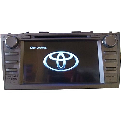 Toyota Camry 2007 - 2011 Car Stereo DVD Player With Functional SD, USB Inputs, Bluetooth And Quality DVD Resolution + Reverse Camera With 4 Led Lights