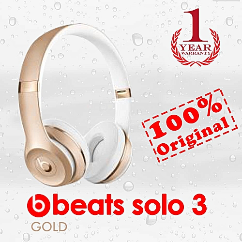 Beats by Dr. Dre Beats By Dr. Dre Solo3 Wireless On-Ear Headphones Gold