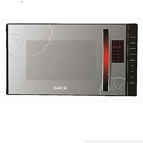 Grill Microwave Oven - Silver