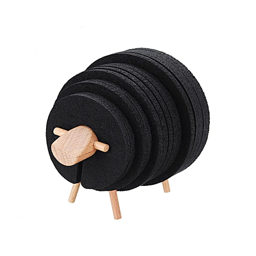 Sheep Anti Slip Cup Pad Insulation Japan Style Home Furnishing Creative Office Nordic Simple Gifts