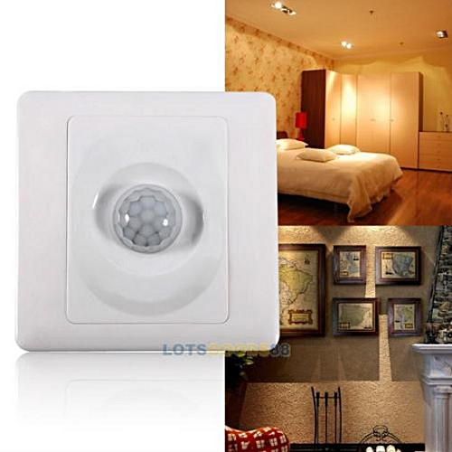 Automatic Adjustable Infrared Motion Sensor Switch Wall Mount Control