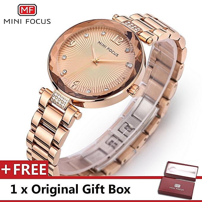 Mini Focus Top Luxury Brand Watch Famous Fashion Women Quartz Watches Wristwatch Gift For Female