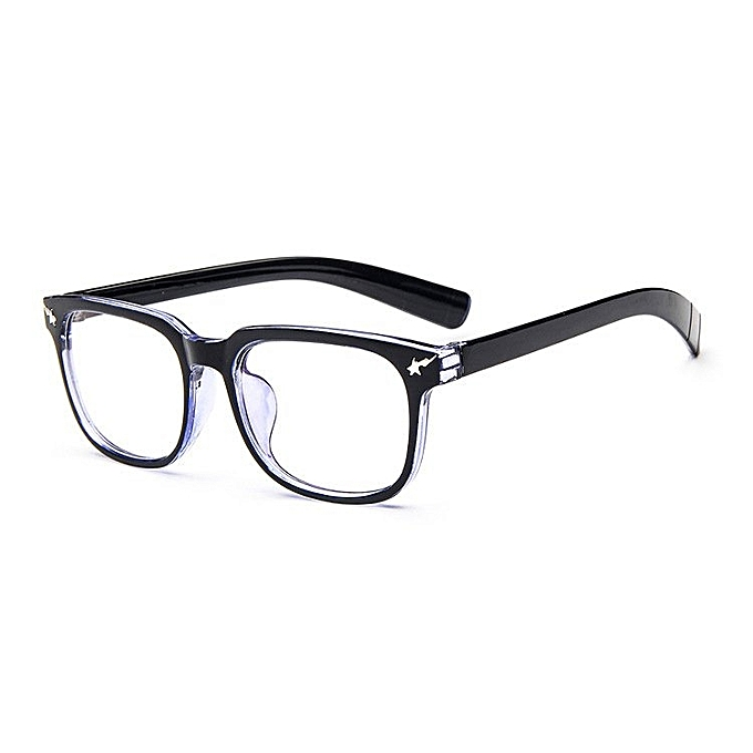 21f7f605b9b Vintage Men Eyeglass Frame Glasses Retro Spectacles Clear Lens Eyewear For  Men