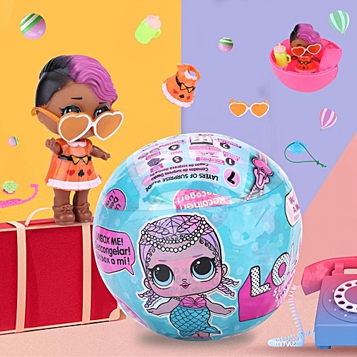 Novelty Magic Multi-layers Surprise Doll Funny Egg Ball Color Change Kids Toy Gift