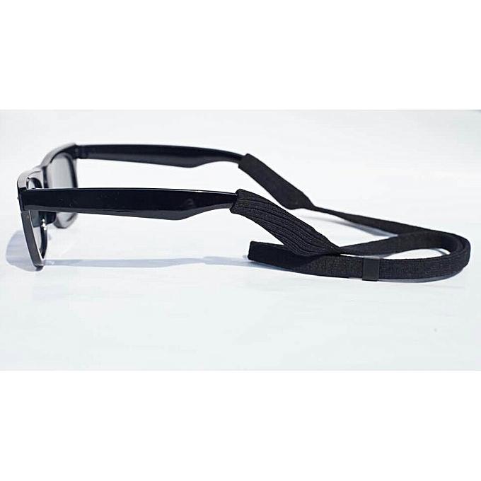 ca72148609 Fashion Unisex Classic Wayfarer Style Sunglasses With Black Cord ...