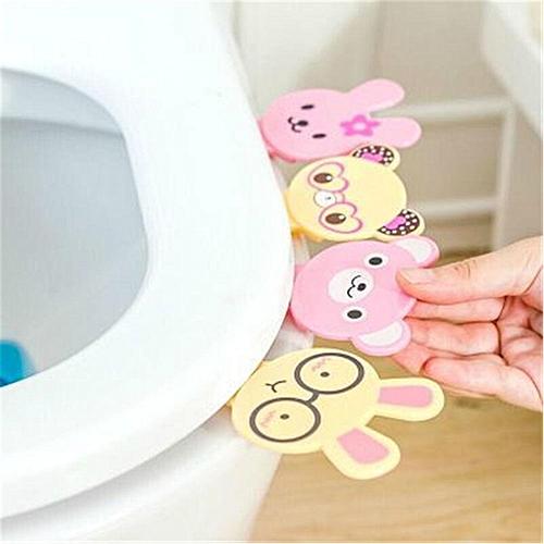 Eleganya Cute Animal Shaped Toilet Cover Lifting Device Toilet Lid Handle Accessories