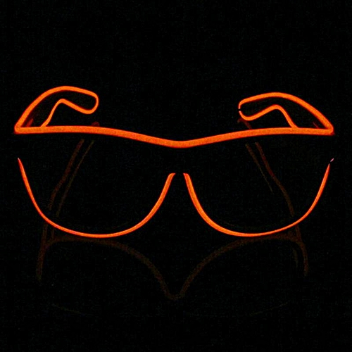 EleganyaMen Fashion LED Flashing Glasses Boutique Festival Party Supplies