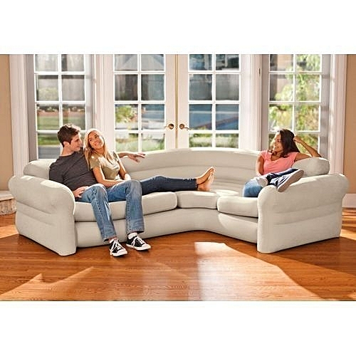 Inflatable L Shape Corner Sofa Chair