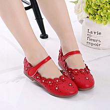 ae109d9cef7f Red Kids Girl Summer Sandals Fashion Children Shoes
