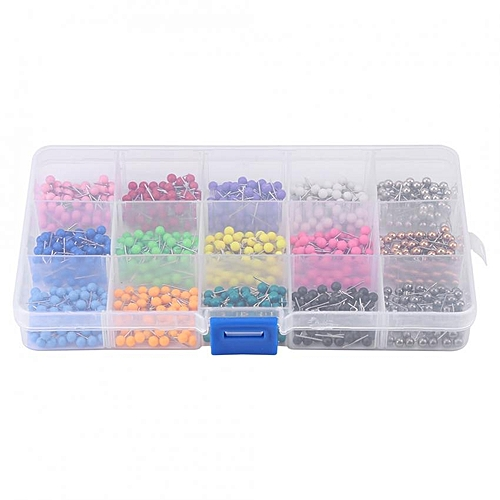 900x Round Head Dressmaking Pins Corsage Florists Sewing Pin