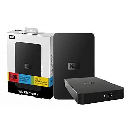 500GB USB 2.0 Portable External HDD