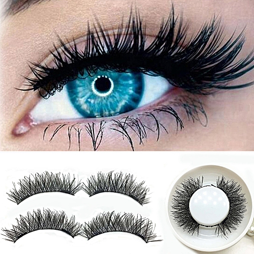 cb3b45d3fee Generic 1 Pair 3D Magnetic False Eyelashes Lashes Reusable False Magnet