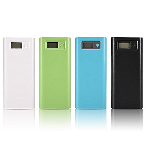 20000mAh Dual USB Power Bank Case Shell DIY Kit Battery Charger W/ LCD Type-C & Micro USB Input