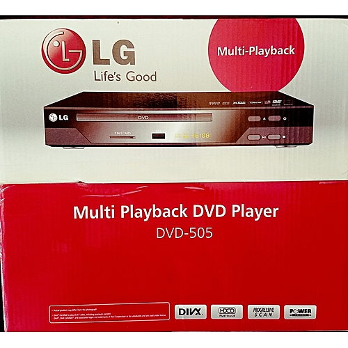 Dvd Player LG 505 With Usb And Playback