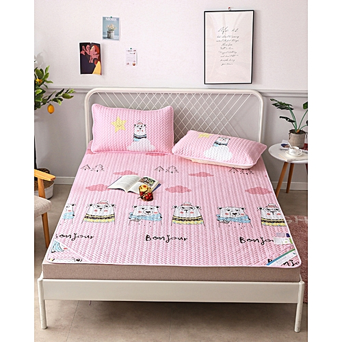 Air Conditioning Soft Cool Bed Mat YJXF Three Pieces Sets
