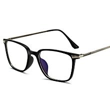 48d126397b6 Rectangle Eyeglasses Frame Black TR90 Titanium Computer Glasses Eyewear  Women Men