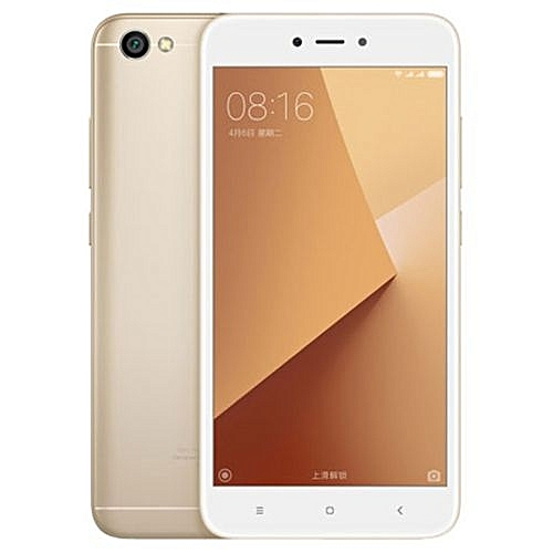 Mi Redmi Note 5a 5.5-Inch hd 3gb 32gb rom Android 7.1 Nougat 13mp 5mp Dual sim 4g Smartphone - Gold