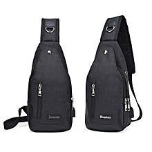 1779bb648e Bags Men Cross Body Shoulder Bags Durable Practical Black Fashion Polyester  Fibre
