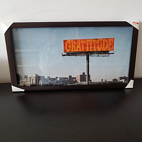 """Gratitude"" Frame/Art Work"