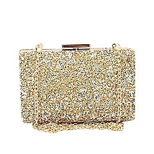 1706c7be6d Gold Studded Ladies Clutch Purse