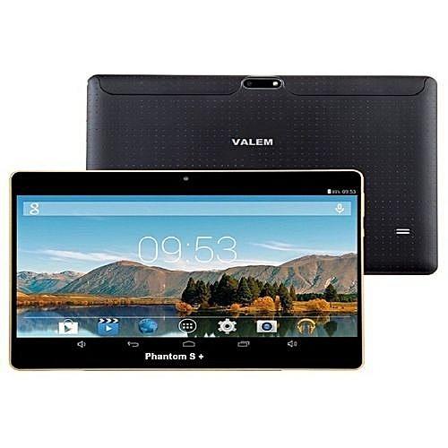 Phantom S +10.1'' 3GB RAM,32GB ROM Android 7.0 Tablet + Leather Case -Black