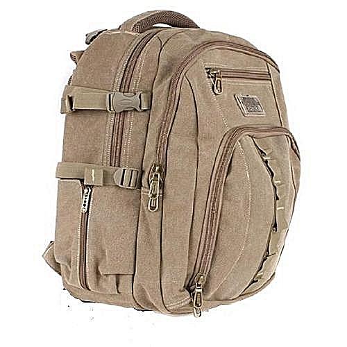 Hp Power Khaki Durable Laptop/School Bag