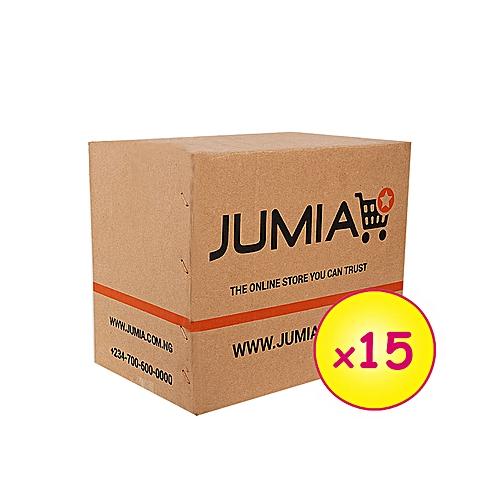 15 Medium Branded Cartons (004) (292mm x 196mm x 254mm) [new design]