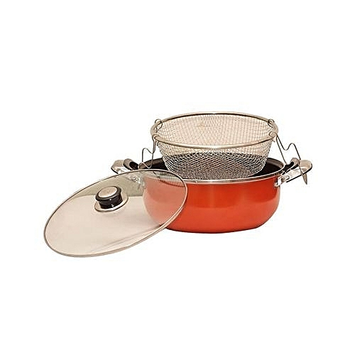 Multipurpose Non Stick Stir/Fry Pan - (manual Deepfryer)
