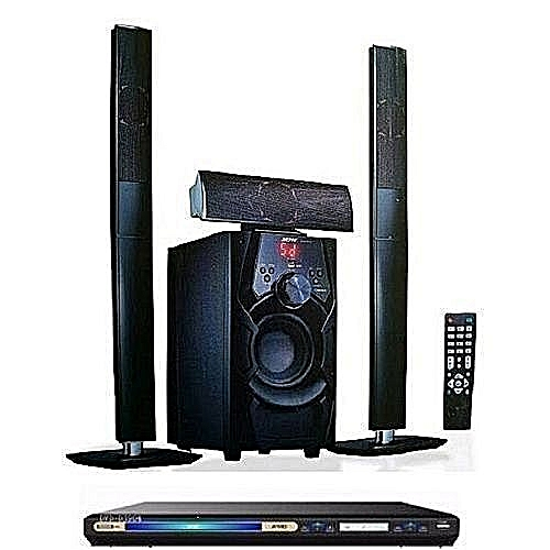 JP-C1 Powerful 3.1 Channel (Bluetooth) Home Theatre System + DVD Player