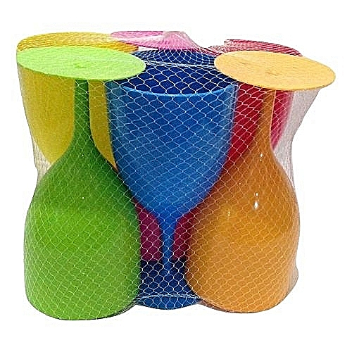 Set Of Plastic Wine Cups