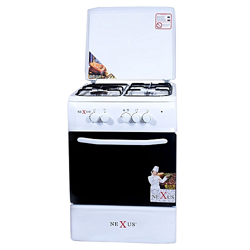 4-Burner Gas Cooker - GCCR-NX-5055W (3 + 1)