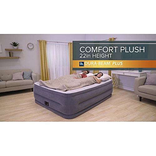 22in Queen Dura-Beam Comfort-Plush Airbed
