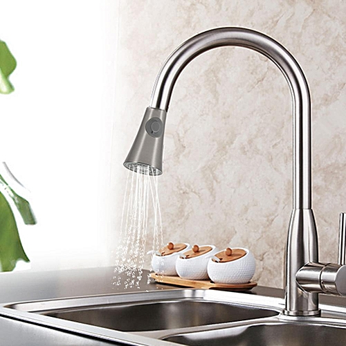 """1/2"""" ABS Plastic Kitchen Sink Faucet Pull Down Spray Shower Head"""