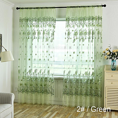 Modern Transparent Window Colors Curtain Excellent Clarity