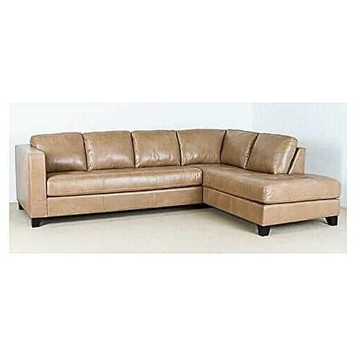 Generic Pawa Furniture Leather 5 Seater L Shape Unique