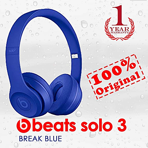Beats by Dr. Dre Beats By Dr. Dre Solo3 Wireless On-Ear Headphones Break Blue