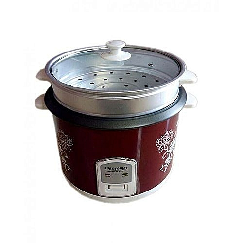 Eurosonic Electric Rice Cooker - 1.8L